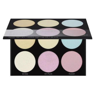 bh cosmetics blacklighte Highlight Palette Makeup